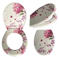 מושב אסלה פרחים