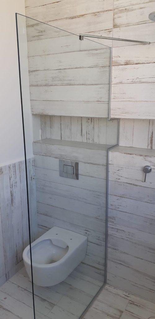 מקלחון חזית קבוע לפי מידה עם חיתוך