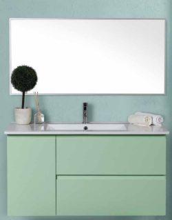 ארון אמבטיה תלוי דגם איתמר כולל כיור ומראה