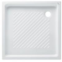 אגנית למקלחון מרובע פינתי מידה 72*72 לבן