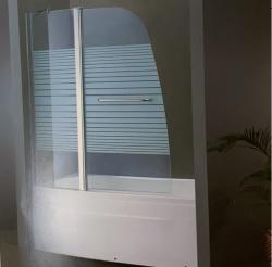 """אמבטיון 120 קבוע 50 ס""""מ דלת בשיפוע 70 ס""""מ קיים בזכוכית גרניט מחוספס"""