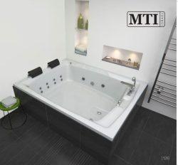 """אמבטיה מלבנית במידה מיוחדת 180*140 ס""""מ"""