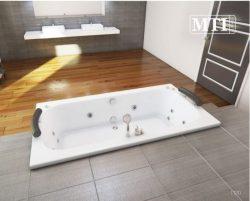 """אמבטיה מלבנית במידה מיוחדת 200*100 ס""""מ"""