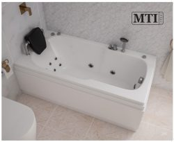"""אמבטיה מלבנית במידה מיוחדת 140*70 ס""""מ"""