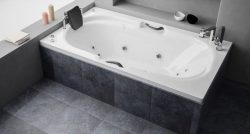 """אמבטיה מלבנית במידה מיוחדת 185*110ס""""מ"""